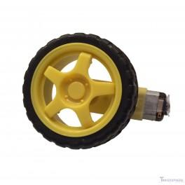 Robot car wheel motor tinkersphere for Robot motors and wheels