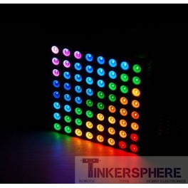 Full Color RGB LED Matrix Panel - Large 8x8