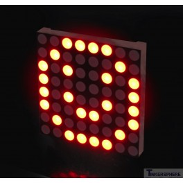 Red LED Matrix Panel - Small 8x8