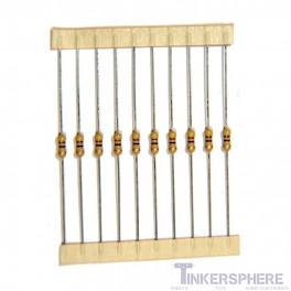 Single Value Resistor 10 pack : 1/4W 5% Carbon-Film