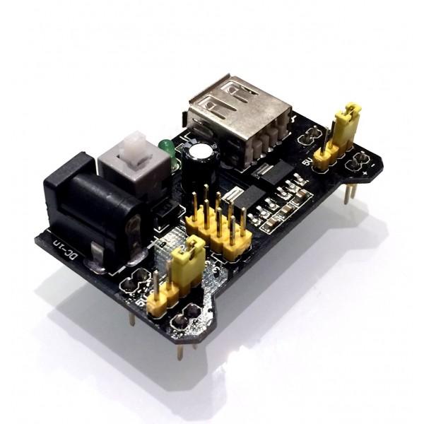 Breadboard power supply module v arduino