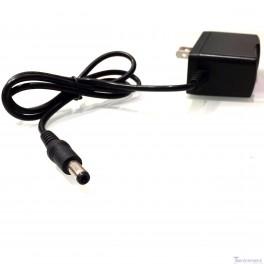 12V DC Power Adapter: 2.1 x 5.5 mm