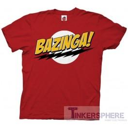 Bazinga T-Shirt: Big Bang Theory