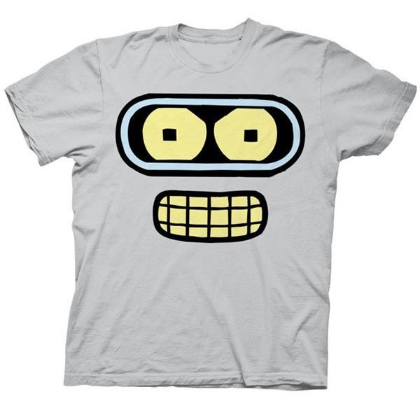 $17.99 - Robot Bender Face T-Shirt: Futurama - Tinkersphere