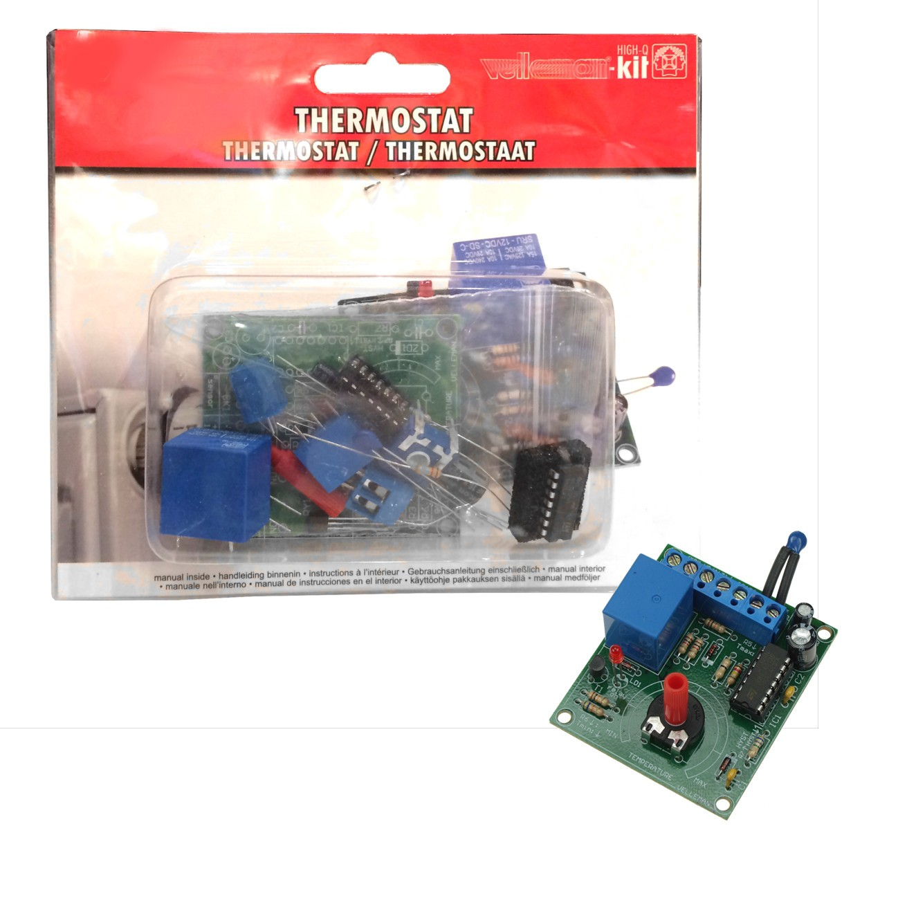 1049 Thermostat Soldering Kit For Hobby Electronics Projects Electronic Kits Tinkersphere