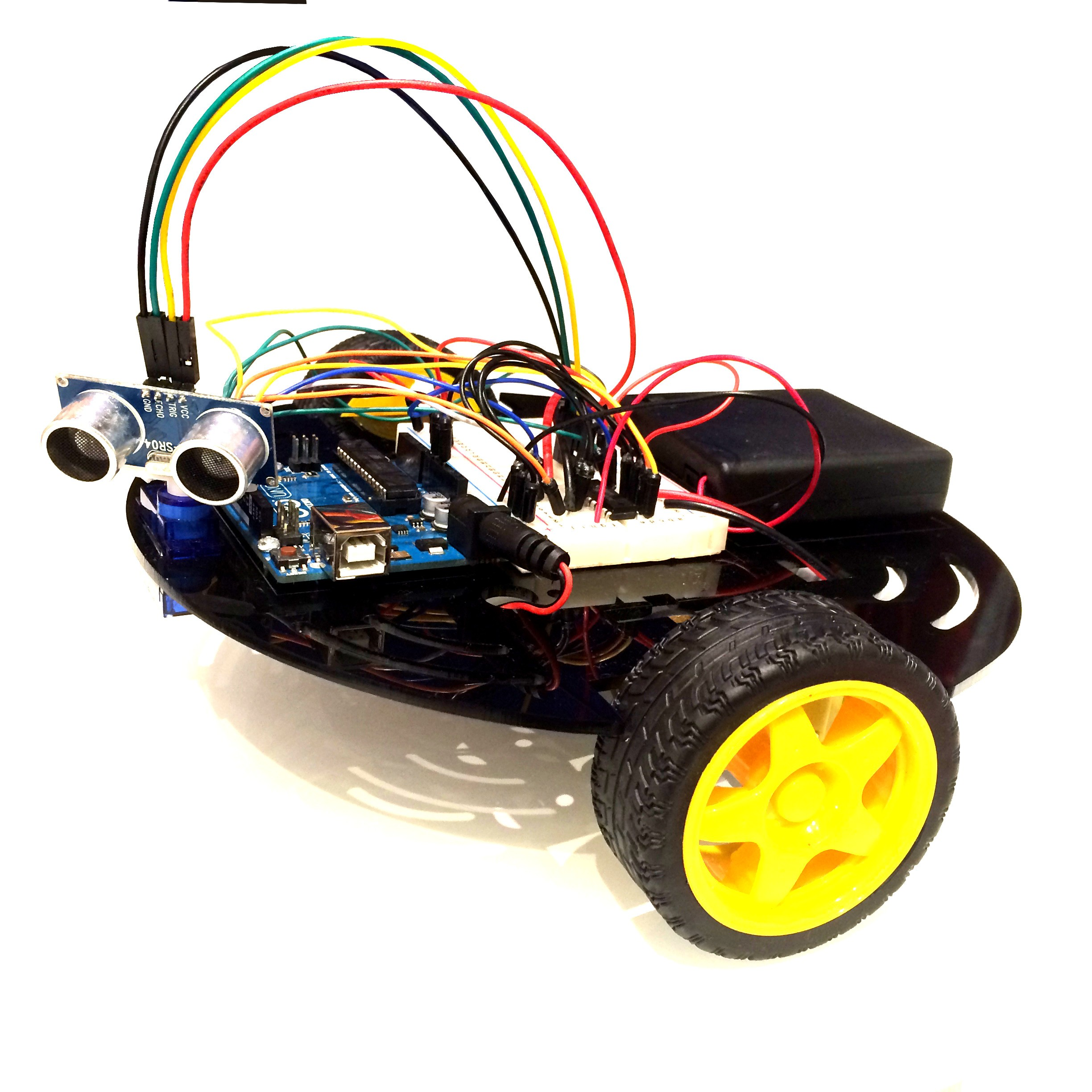 Arduino UNO Robot Kit: Complete With Electronics