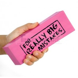 Eraser for Really Big Mistakes