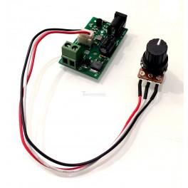 DC Motor Speed Controller: 6V-28V 3A
