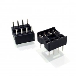 8 Pin IC Socket (DIP)