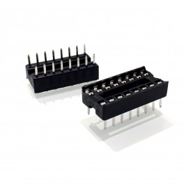 16 Pin IC Socket (DIP)