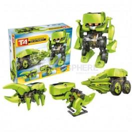 4-in-1 Transformer Solar Robot T4