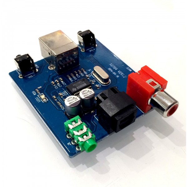 Raspberry Pi DAC Audio / High Quality Sound Card Module: PCM2704