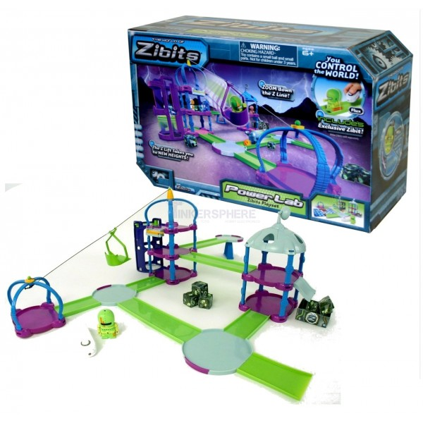 67 99 Zibits Power Lab Robot Action Playset Tinkersphere