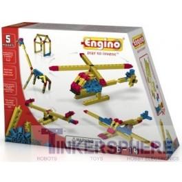 Engino- 5 Models Engineering Series
