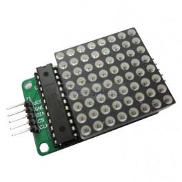 Serial LED Matrix Module (Arduino Compatible)