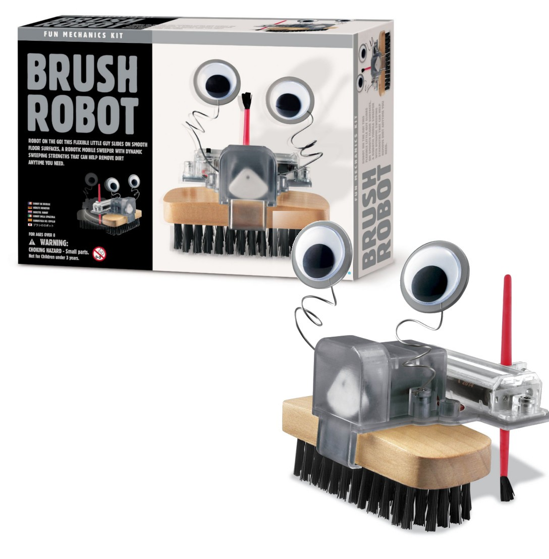 15 99 Brush Robot Kit Bristlebot Brushbot