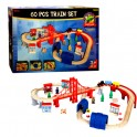 Deluxe 60pc Train Set