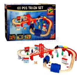 Deluxe 60pc Train Set