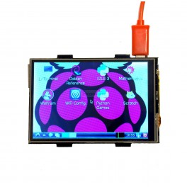 "3.5"" Pi TFT Touch Screen LCD Shield for Raspberry Pi"
