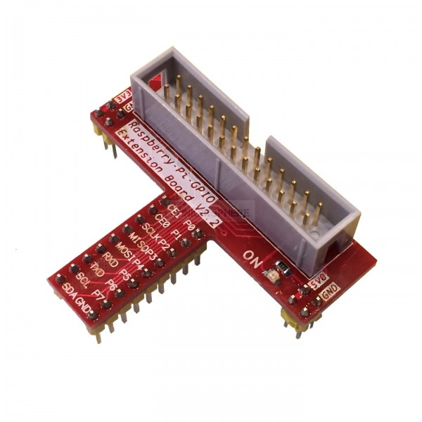 4 99 Raspberry Pi 26 Pin Wedge T Breakout Board