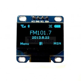 Blue OLED Module (Soldered)