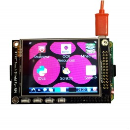 """2.8"""" Pi TFT Touch Screen LCD Shield with Buttons for Raspberry Pi"""