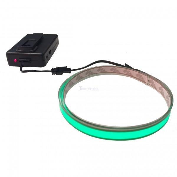 $15.99 - Green EL Tape + Battery Pack (3.28ft) - Tinkersphere