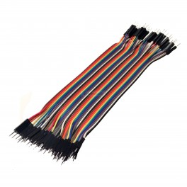 40 Pin Male to Male Ribbon Jumper Cable