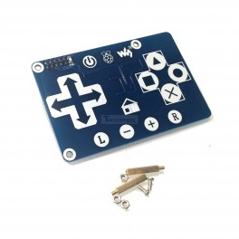 Raspberry Pi Capacitive Touch Gamepad Controller