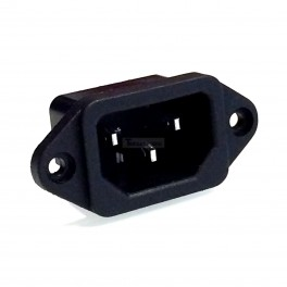 Male Power Connector: IEC 320 C13 / C14