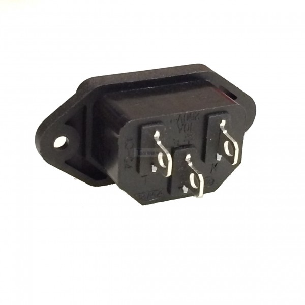 2 49 Male Power Connector Iec 320 C13 C14 Tinkersphere