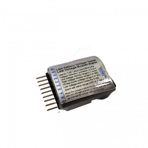 7 99 Lipo Low Voltage Battery Alarm Tinkersphere