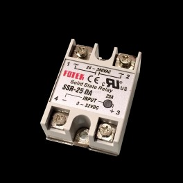 Solid State Relay 25A (3-32V DC Input)