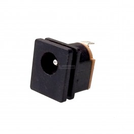 Panel Mount DC Jack: 5.5x2.1mm