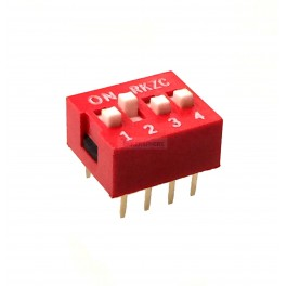 4 Pin DIP Switch (Breadboard & Perfboard Compatible)