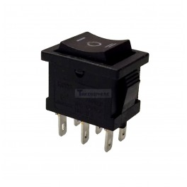 Rocker Switch DPDT 6 Pin