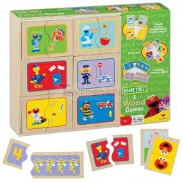 Sesame Street Wooden Box Set