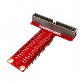 Raspberry Pi 2, A+ & B+ 40 Pin Wedge T Breakout Board