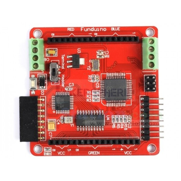 8x8 RGB LED Matrix Control Board