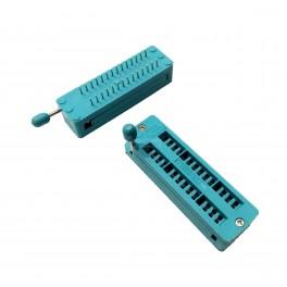 28 Pin ZIF Socket (Zero Insertion Force)