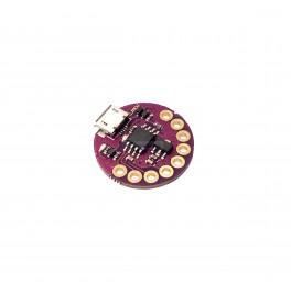 Lilytiny (Mini Arduino-Compatible E-textile Controller)