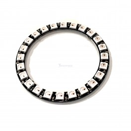 24 x WS2812 5050 RGB LED with Integrated Drivers (Neopixel Compatible)