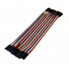 40 Pin Jumper Cable: Male to Female