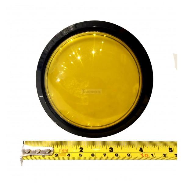 Big Dome Push Button Yellow