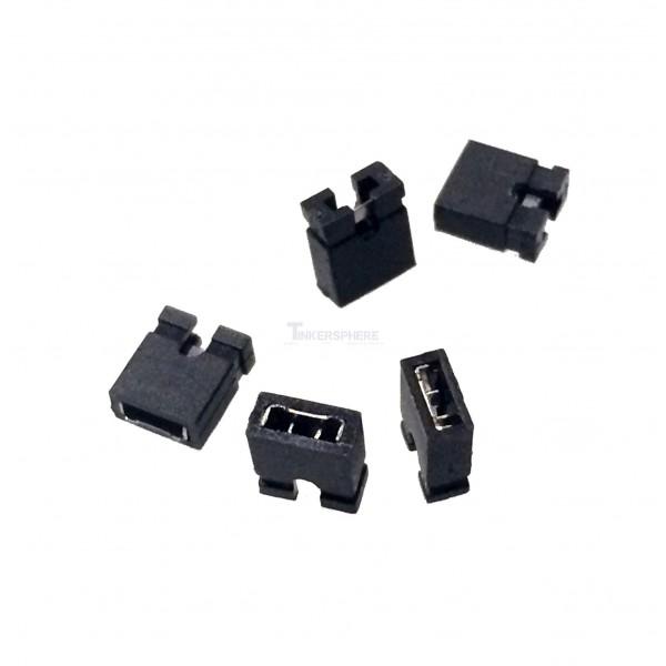 0 99 2 Pin Header Jumpers 5 Pack Tinkersphere