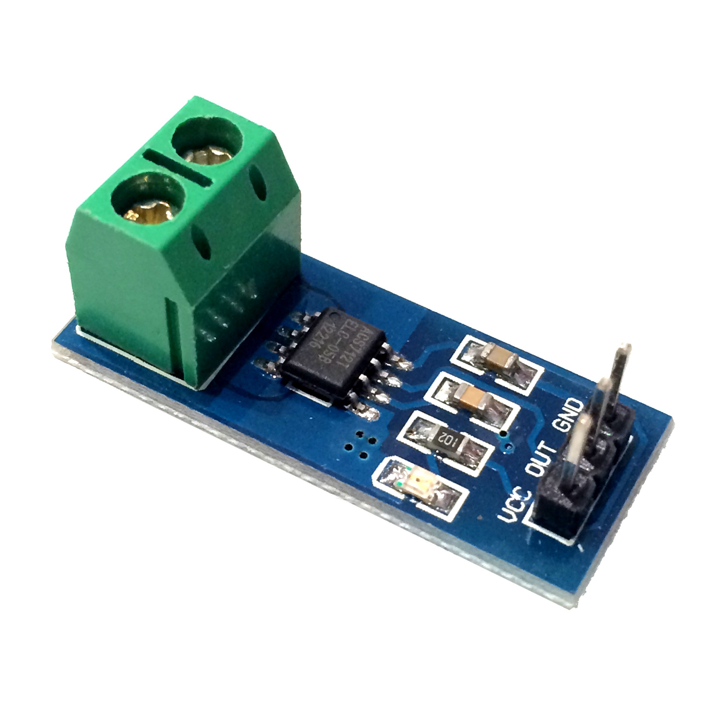 5A Hall-Effect Current Sensor Breakout ACS712 - Tinkersphere