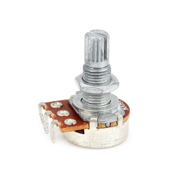 a50k 1x stereo potentiometer logarithmic axial 50kω for pcb
