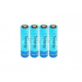 NiMH Rechargeable AAA Batteries: 4 pack 1000mAH