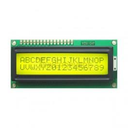 16x2 LCD Module (Black Text / Green Backlight)
