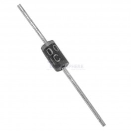 1N4004 Rectifier Diode: 400V 1A